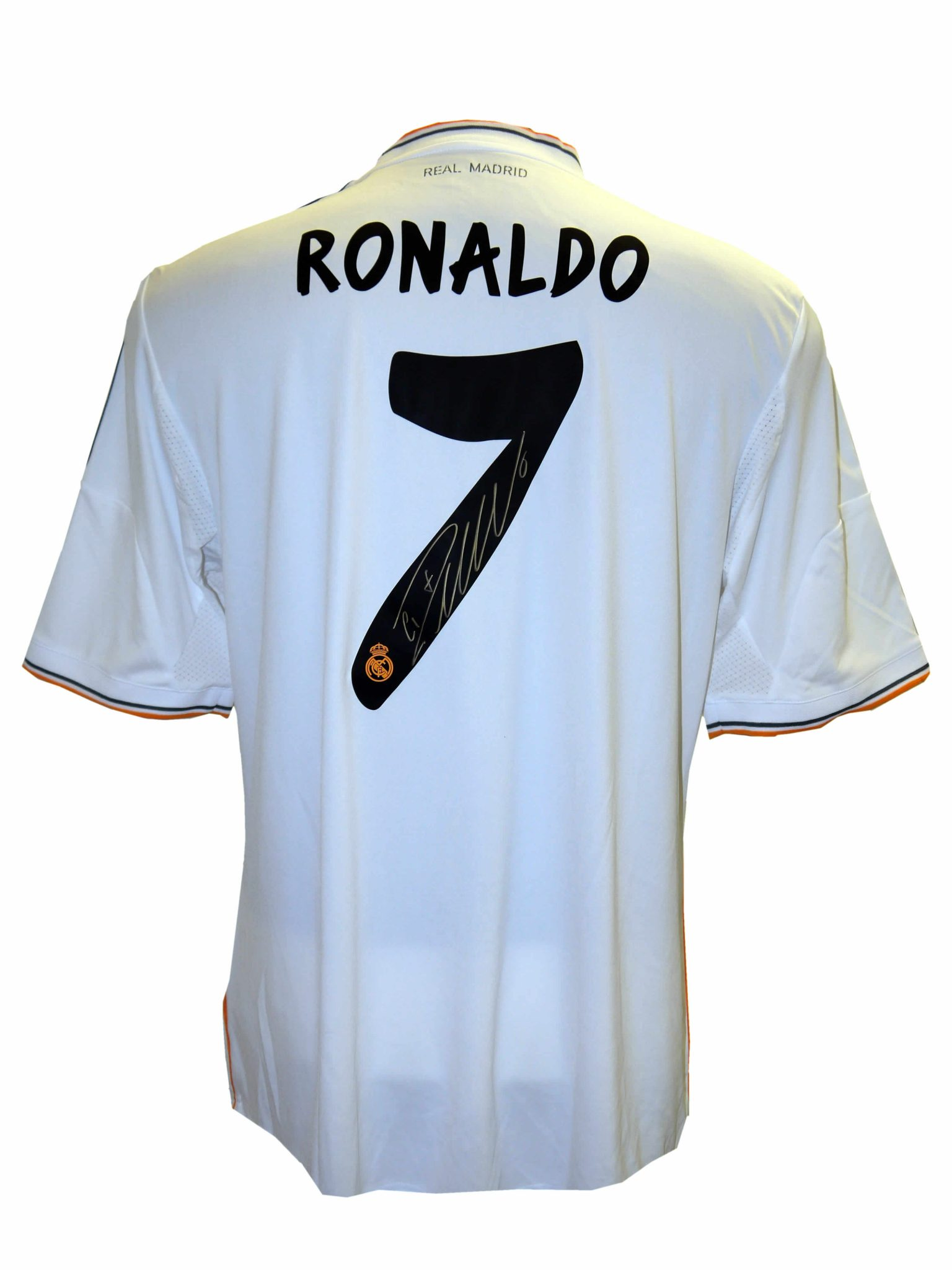 best cheap bd2dd 12658 Ronaldo signed Real Madrid shirt