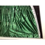 Joe Frazier - iconic green shorts signed & framed limited edition presentation