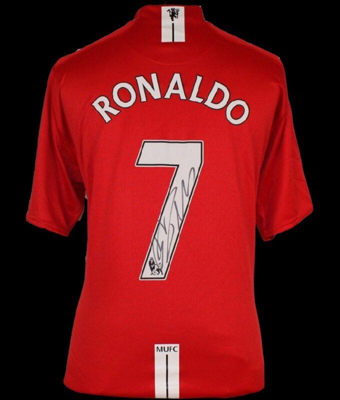 Cristiano Ronaldo Signed Manchester United Shirt - Number 7