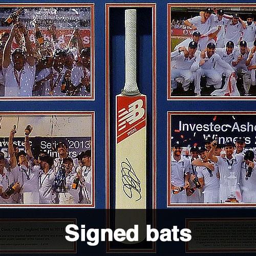 Signed Bats