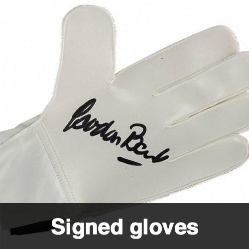 Signed Goalie Glove