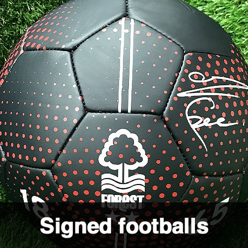 Signed Footballs