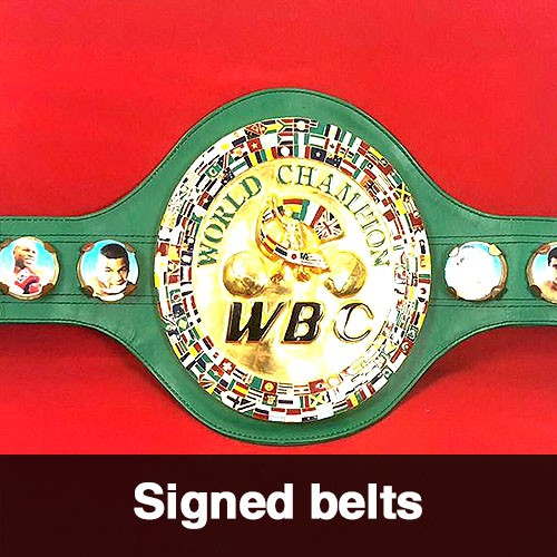 Signed belts