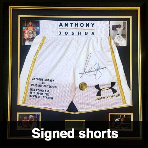 Signed Shorts