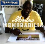 Sir Viv Richards signed and framed limited edition presentation